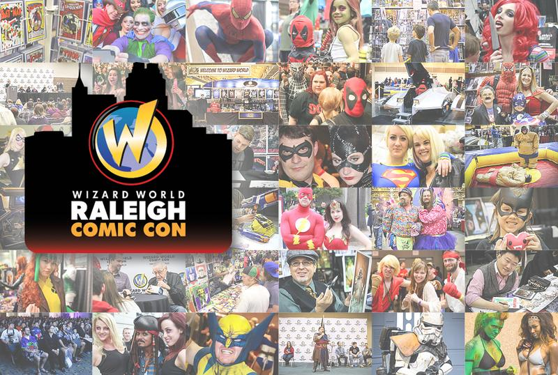 Raleigh Comic Con 2015 Wizard World Convention Admission