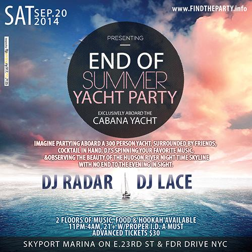 OFFICIAL END OF SUMMER MIDNIGHT CRUISE