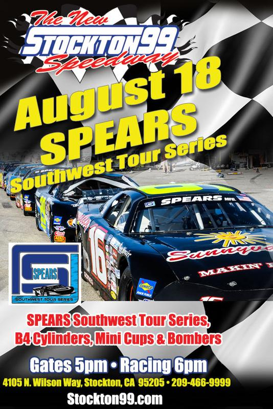 August 18, 2018 - SRL Southwest Tour Series, Bombers, B4 Cylinders & Mini Cups