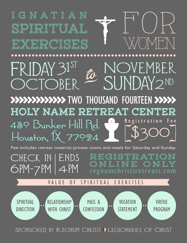2014 Women's Open Spiritual Exercises in Houston, TX