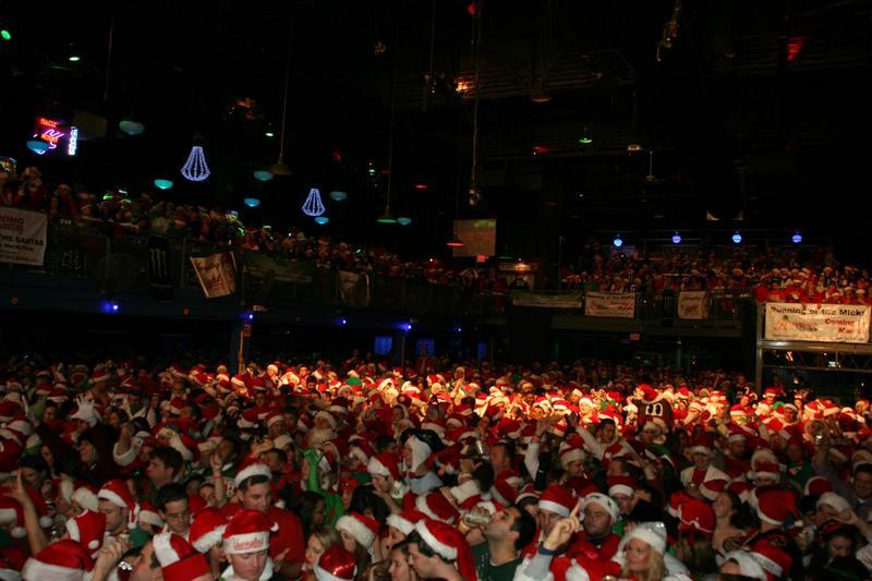 Running of the Santas - Atlantic City