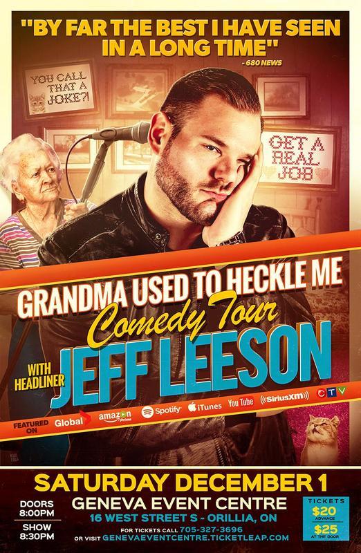 Jeff Leeson Comedy Tour
