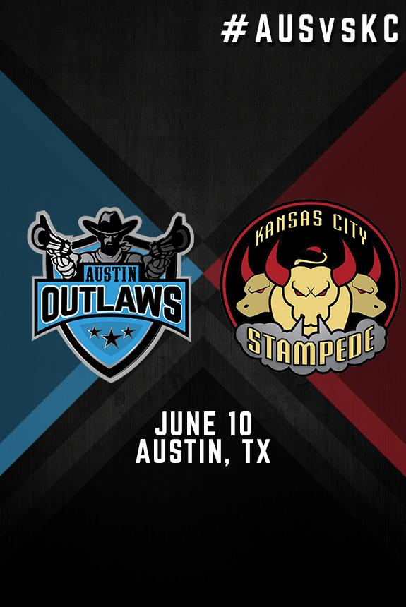 Austin Outlaws Vs Kansas City Stampede Tickets In Round