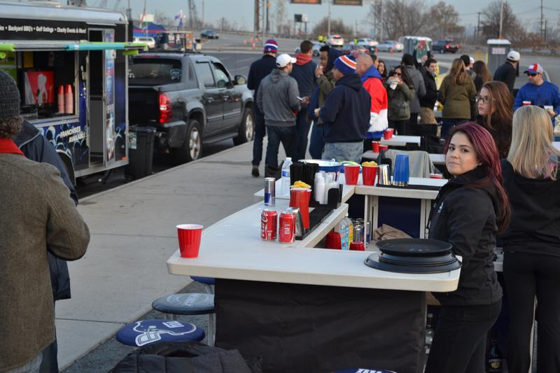 Giants Tailgate vs lions