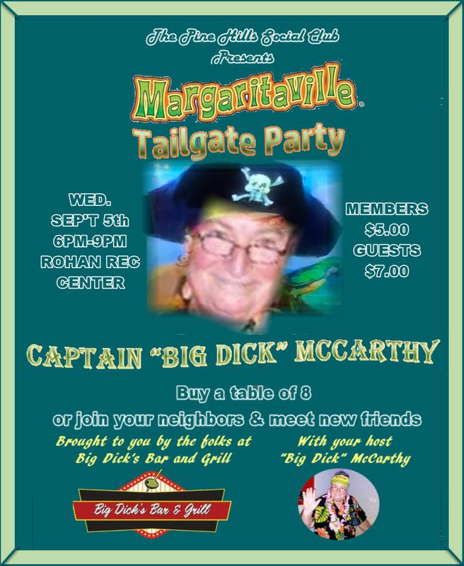 MARGARITAVILLE TAILGATE PARTY