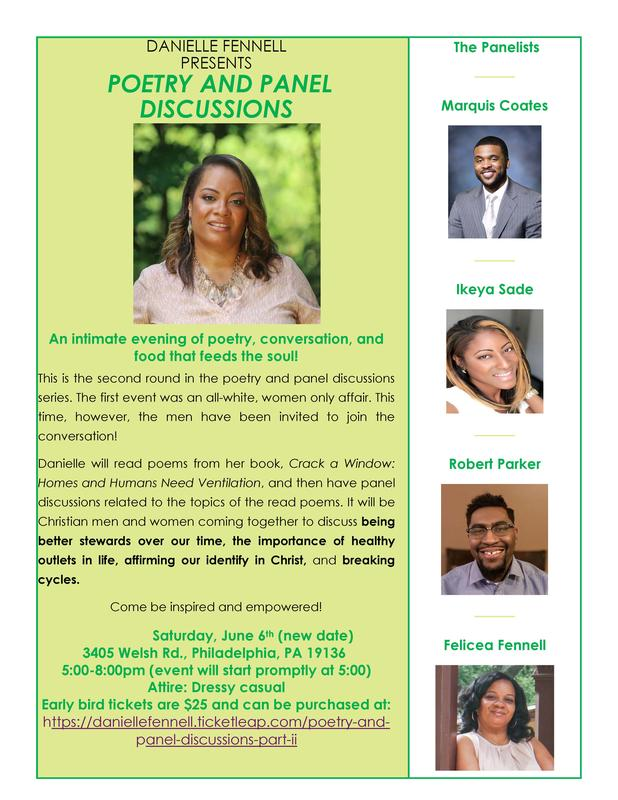 Poetry and Panel Discussions: Part II