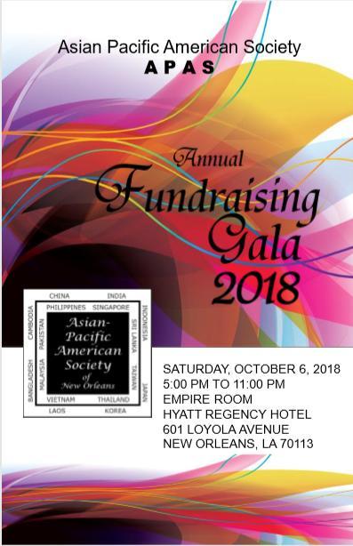 APAS Gala 2018