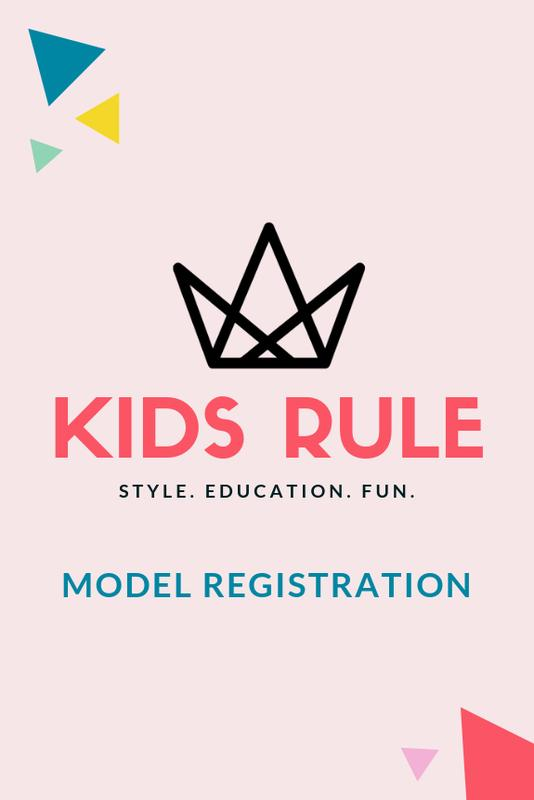 Kids Rule: Model Registration February 2019