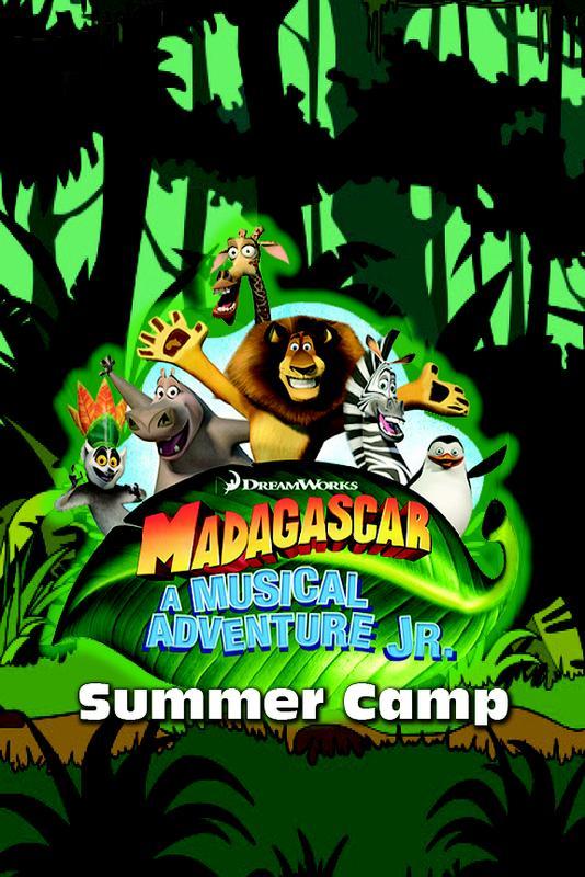 SUMMER CAMP SESSION 1 - Madagascar – A Musical Adventure JR.