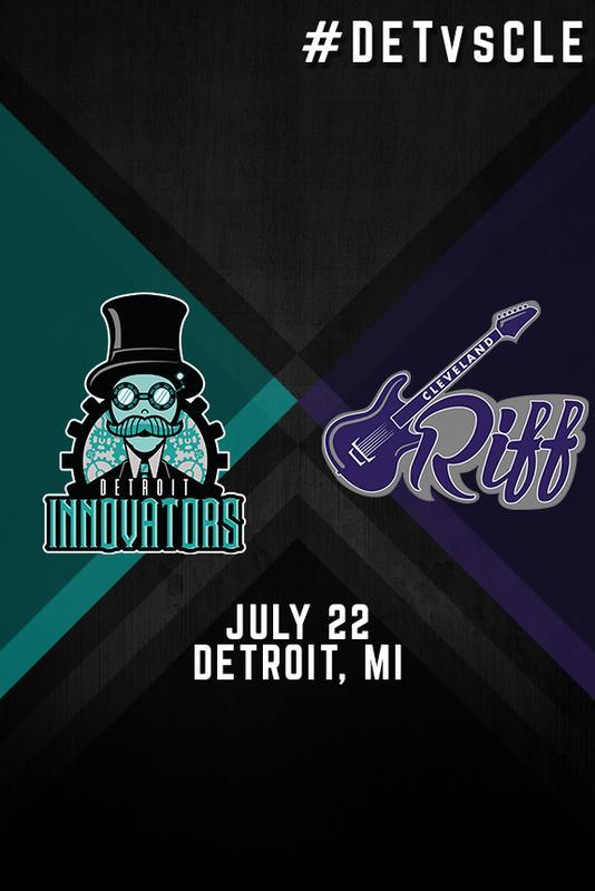 Detroit Innovators vs. Cleveland Riff