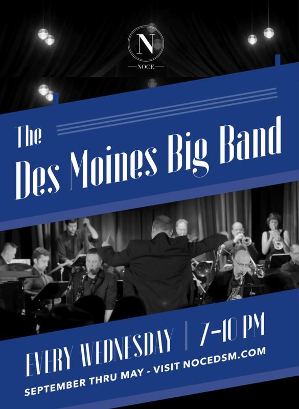 The Des Moines Big Band Plays Ellington