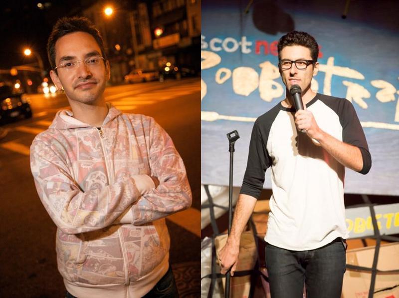 Comedy Night At the Fenix with Myq Kaplan & Zach Sherwin