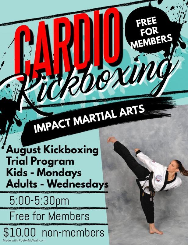 August KickBoxing Trial