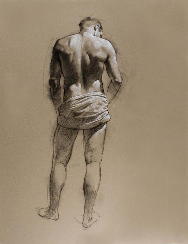 Wednesday Art In Motion Figure Drawing  Class (live models)