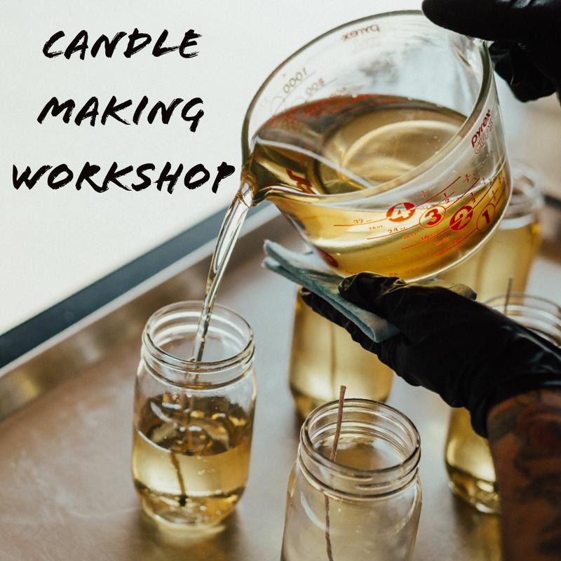 DIY Candle Making Workshop at Happy Valley Station