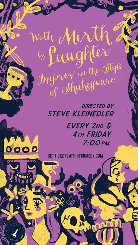 With Mirth And Laughter: Improv In The Style Of Shakespeare