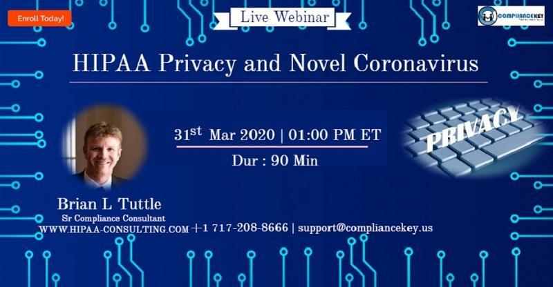 HIPAA Privacy and Novel Coronavirus