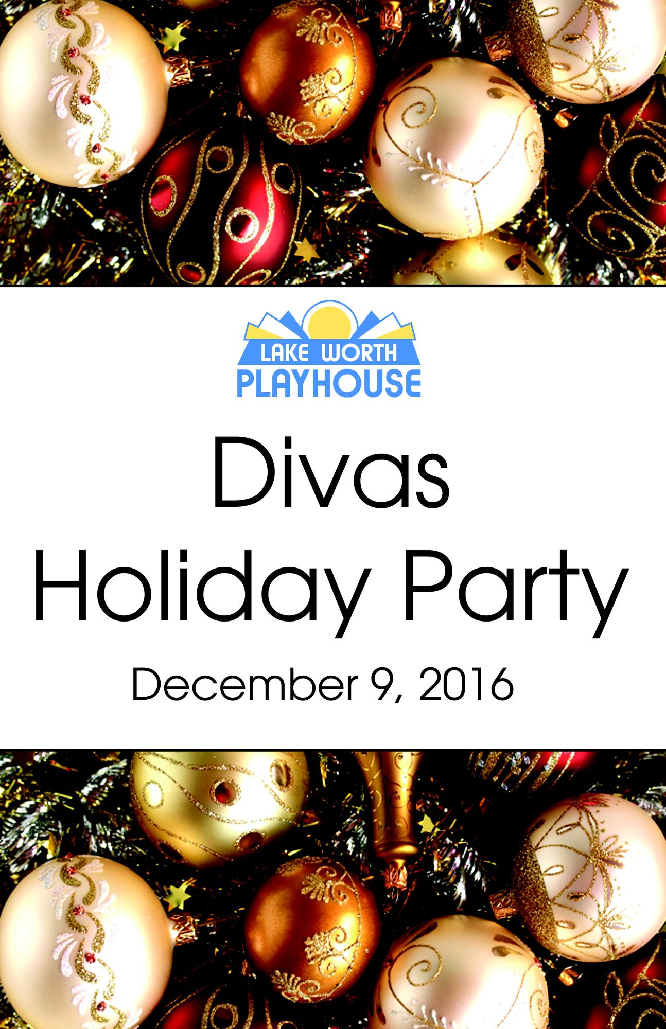 Lake Worth (FL) United States  city images : DIVAS HOLIDAY PARTY 2016 Tickets in LAKE WORTH, FL, United States