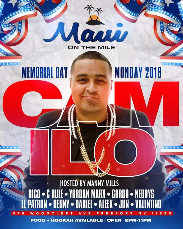 Memorial Day Party DJ Camilo Live At Maui On The Nile