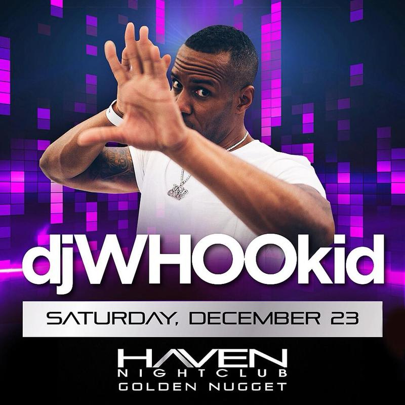 DJ Whoo Kid @ Haven Nightclub AC Saturday December 23rd