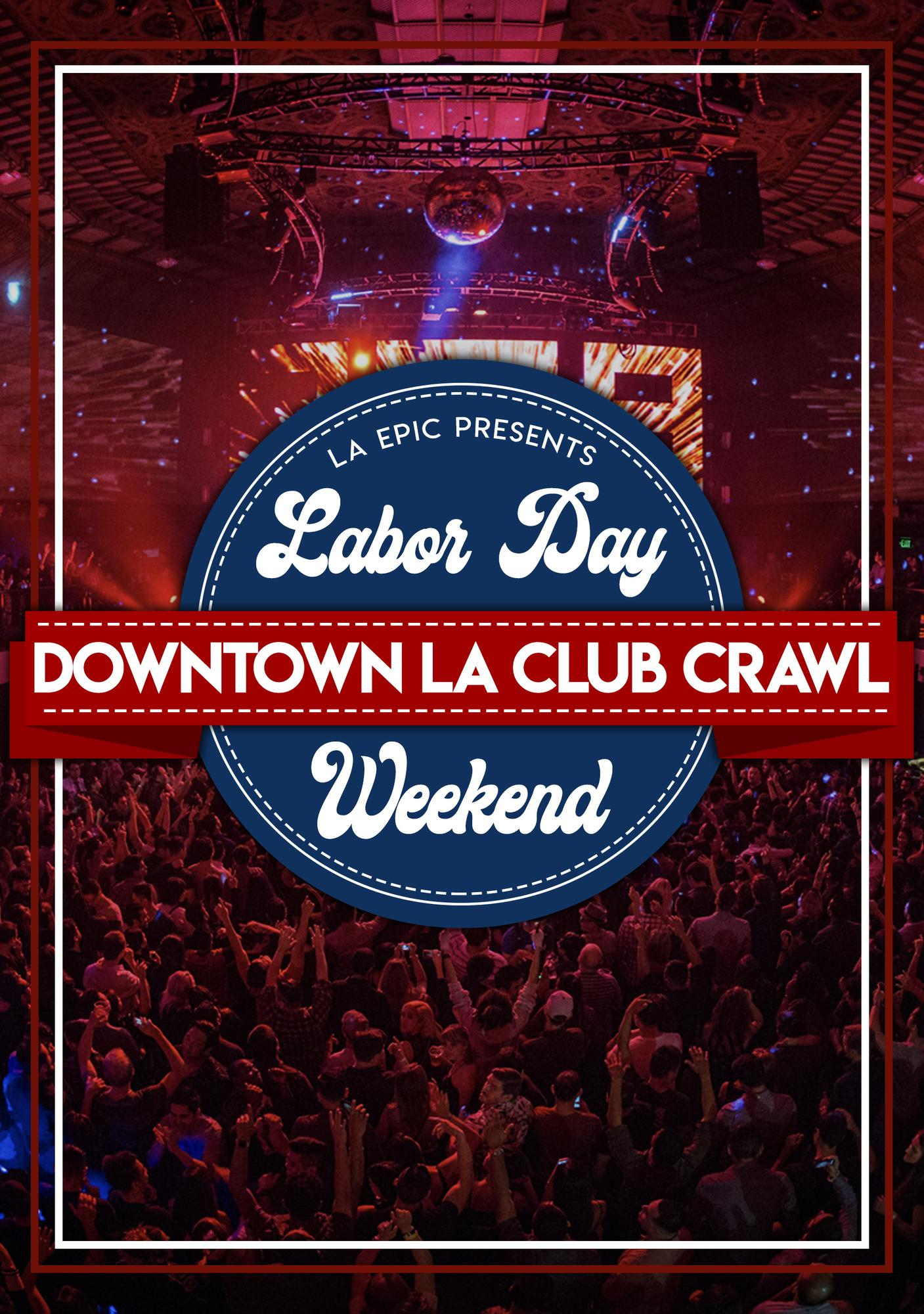 2019 Labor Day Weekend Downtown LA