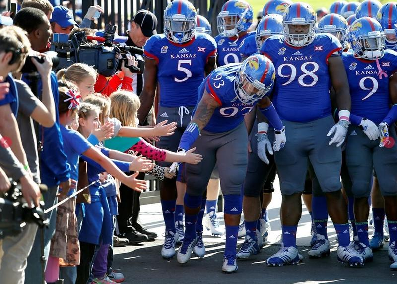 Girl Scout Day with Kansas Football