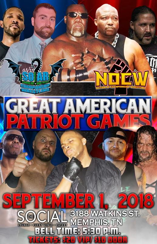 NOCW GREAT AMERICAN PATRIOT GAME'S