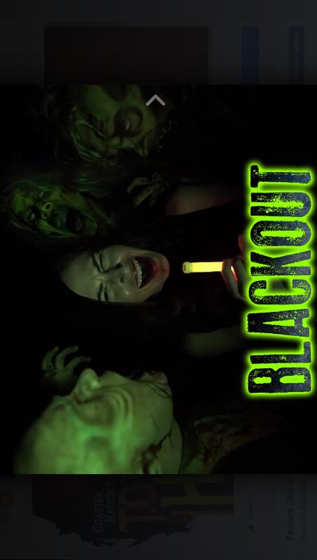 Haunted Hotel BLACKOUT ! Only Nov 2 & 3