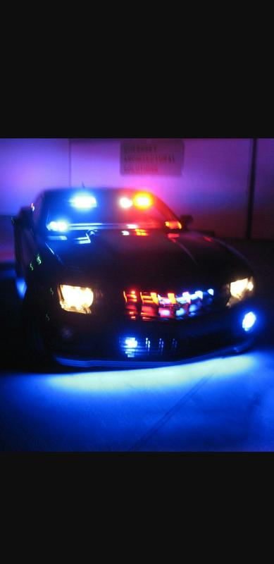 Emergency Vehicle lights show off