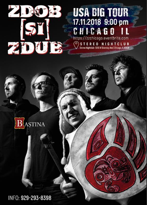 Zdob Si Zdub Live in Chicago!