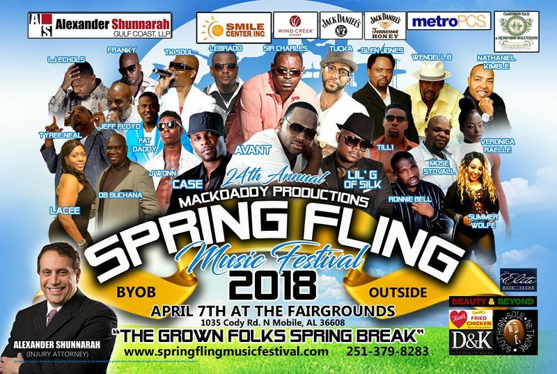 Spring Fling Music Festival 2018