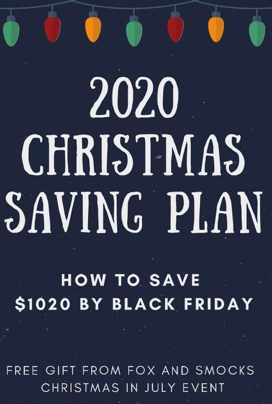 2020 Christmas Saving Plan