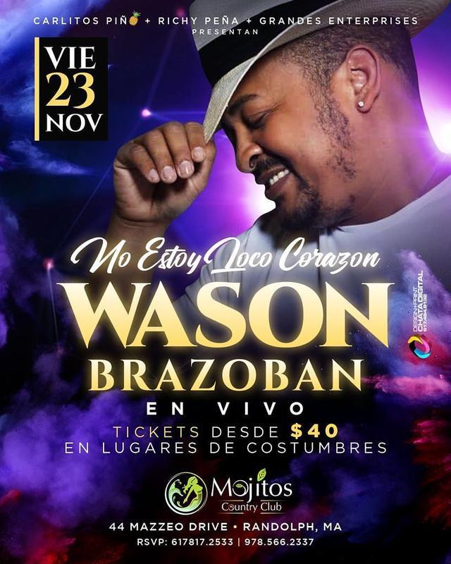 Wason Brazoban en Vivo