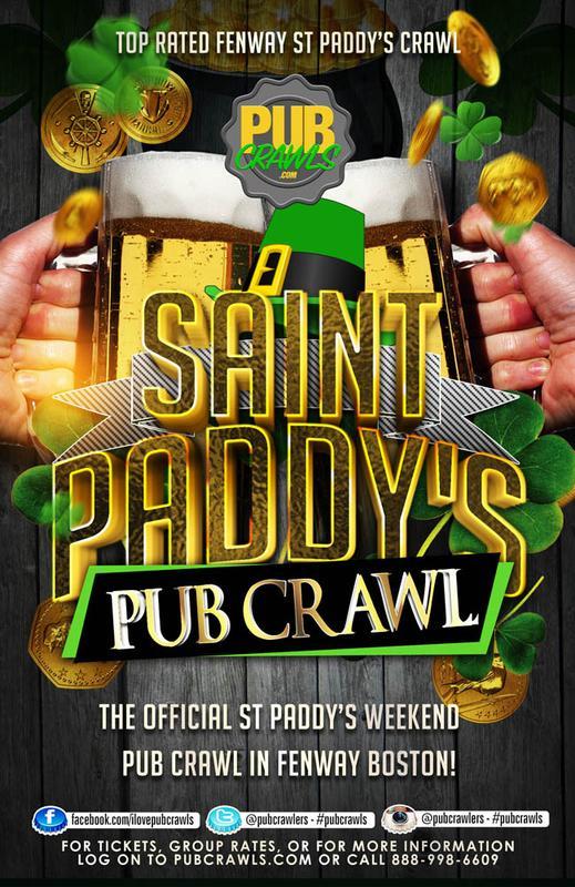 LepreCon Alley Fenway St Paddy's Weekend Pub Crawl