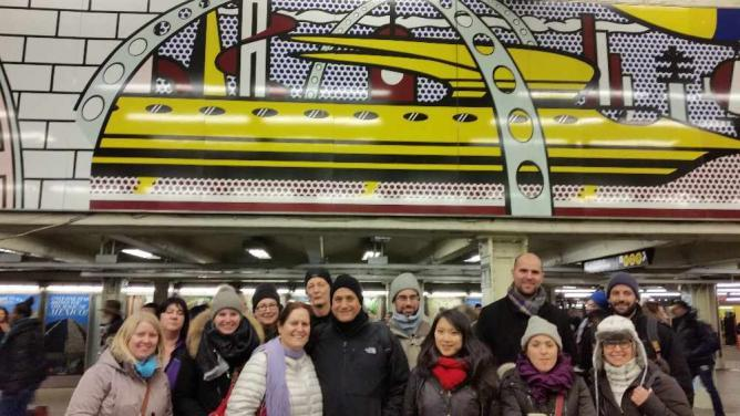 The Great NYC Underground Art & History Scavenger Hunt