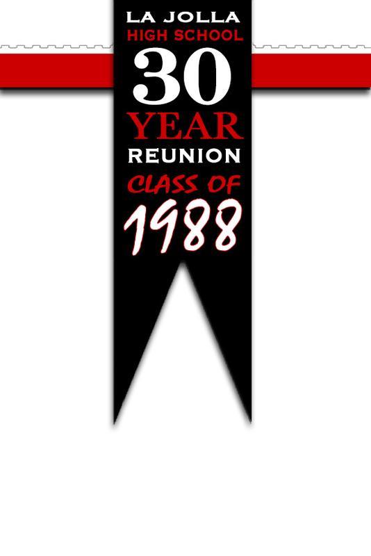 La Jolla High School - Class of 1988 - Thirty Year Reunion