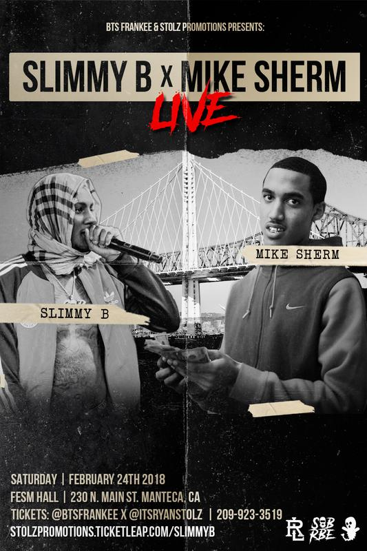 Slimmy B x Mike Sherm Live