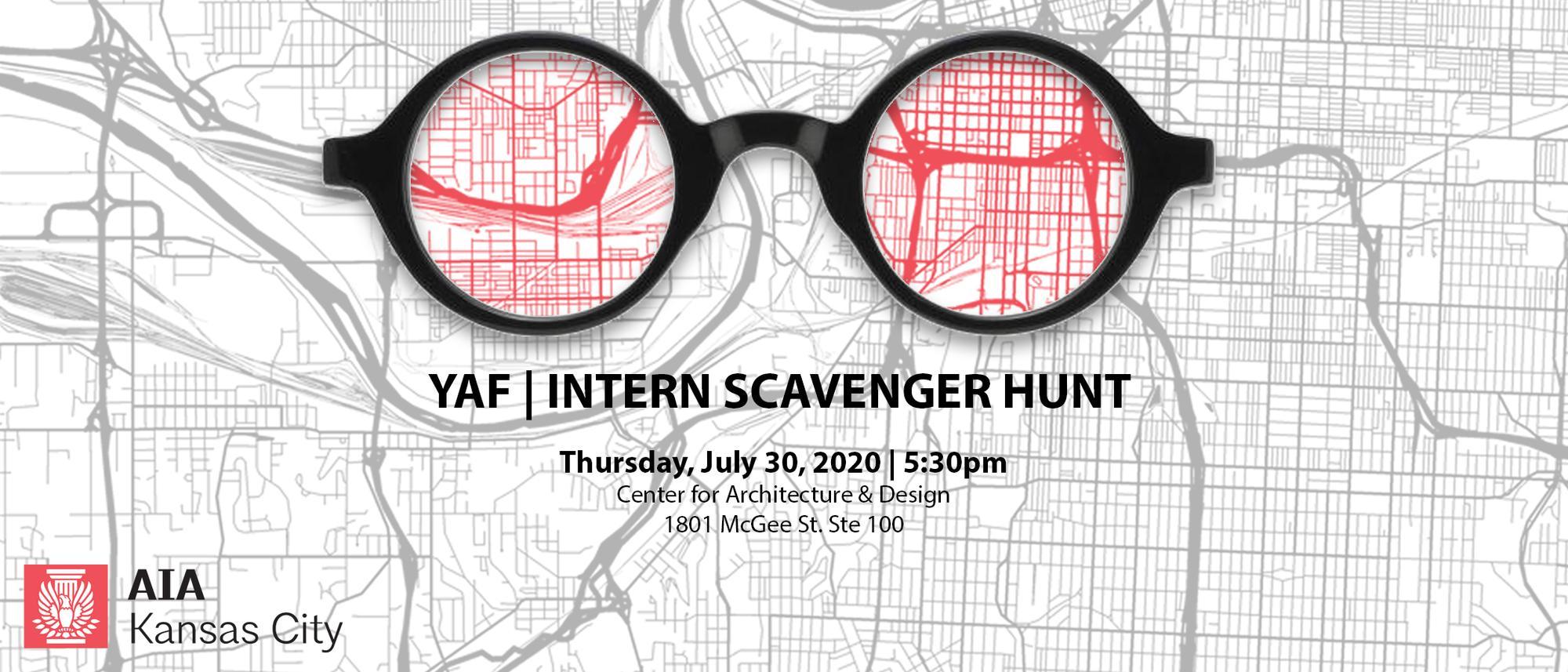 YAF: Intern Scavenger Hunt 2020