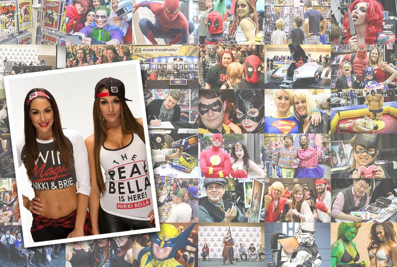 WWE® Superstars The Bella Twins™ VIP @ Wizard World Comic Con Philadelphia 2016