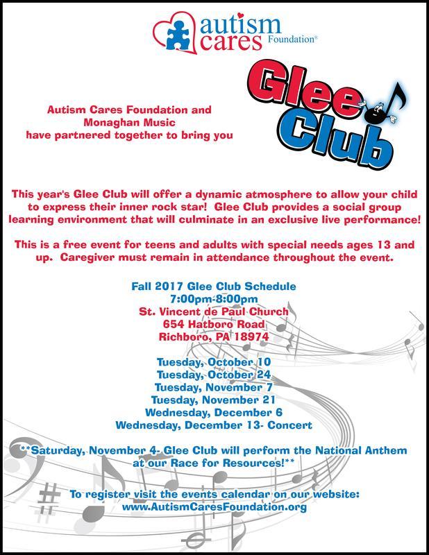 Glee Club  Fall 2017