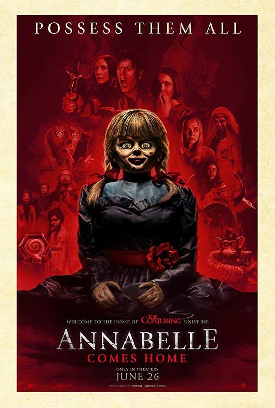 Annabelle Comes Home (R) && Crawl (R)