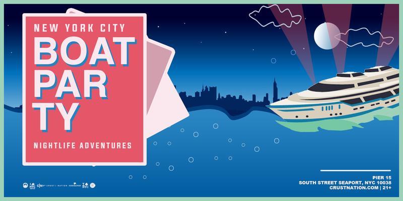 NYC #1 Statue of Liberty Yacht Cruise around Manhattan - Saturday Night Boat Party