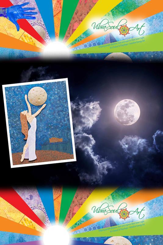 Paint Your Full Moon Goddess