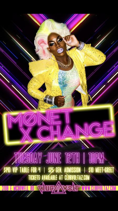 RuPaul's Drag Race Season 10 MONET X'CHANGE LIVE!