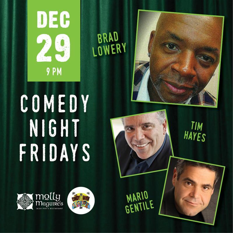Comedy Night Friday's 12/29/2017