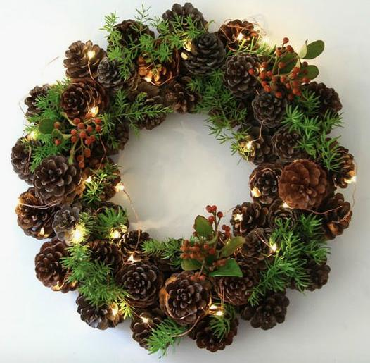 Wreath Decorating Class December 11th