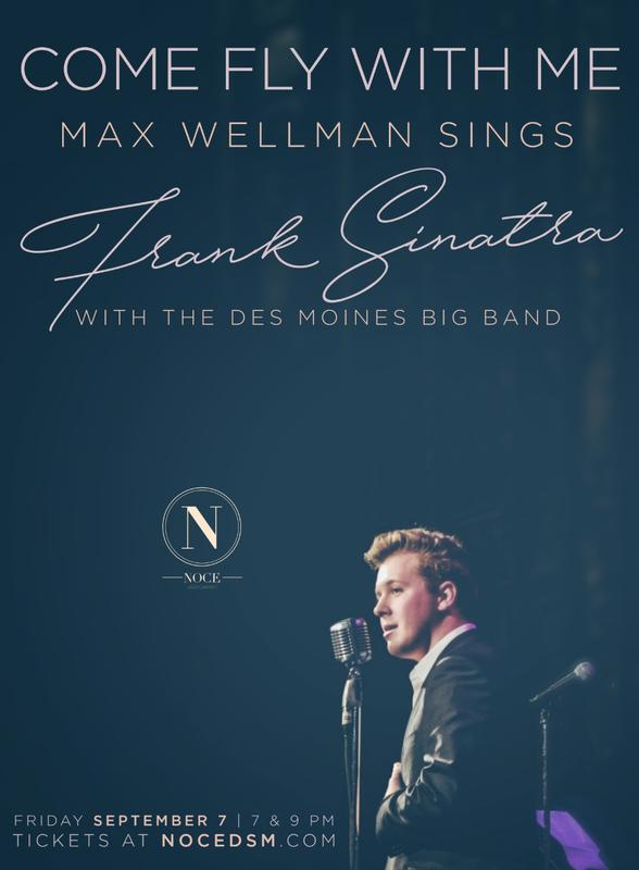 Come Fly With Me: Max Wellman Sings Sinatra w/ The Des Moines Big Band