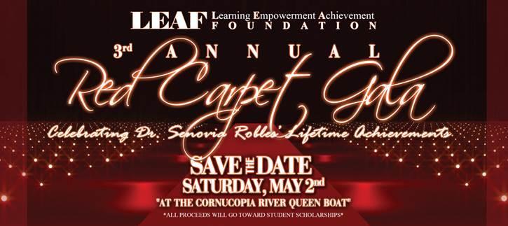 LEAF 3rd annual Red Carpet Gala