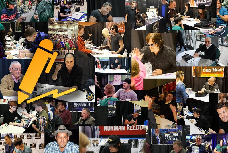 Autographs @ Wizard World Comic Con PITTSBURGH 2016 **VALID ON ALL DAYS OF APPEARANCES unless otherwise indicated**