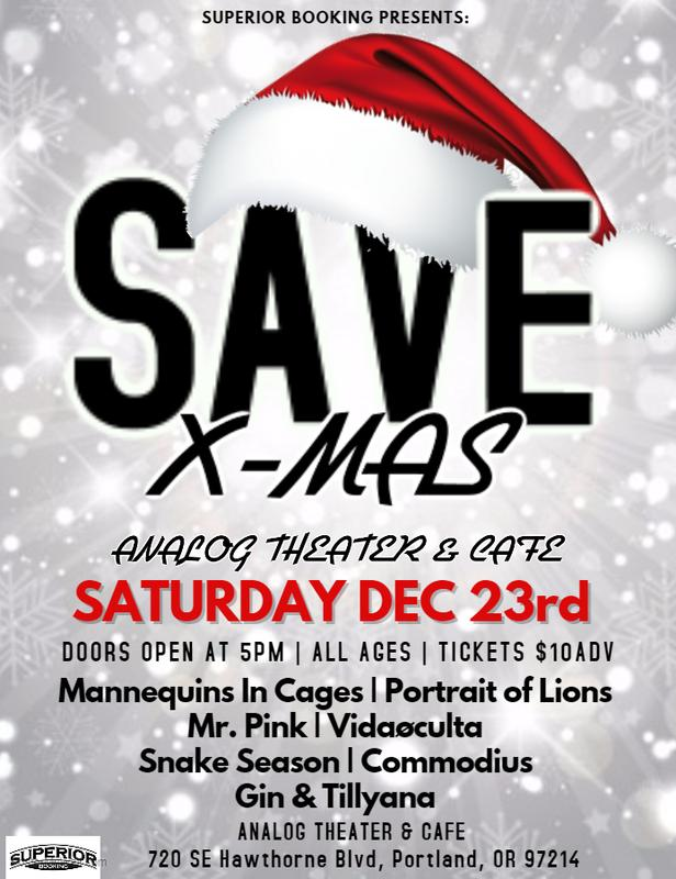 Save X-Mas at The Analog